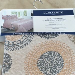 Other - Twin quilt and sham, brand new never used